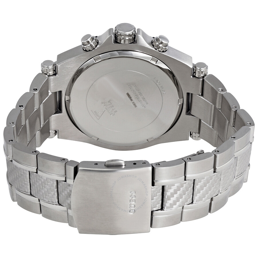 Guess Men\'s Chronograph Wired Stainless Steel Watch W0243G1 - Guess ...