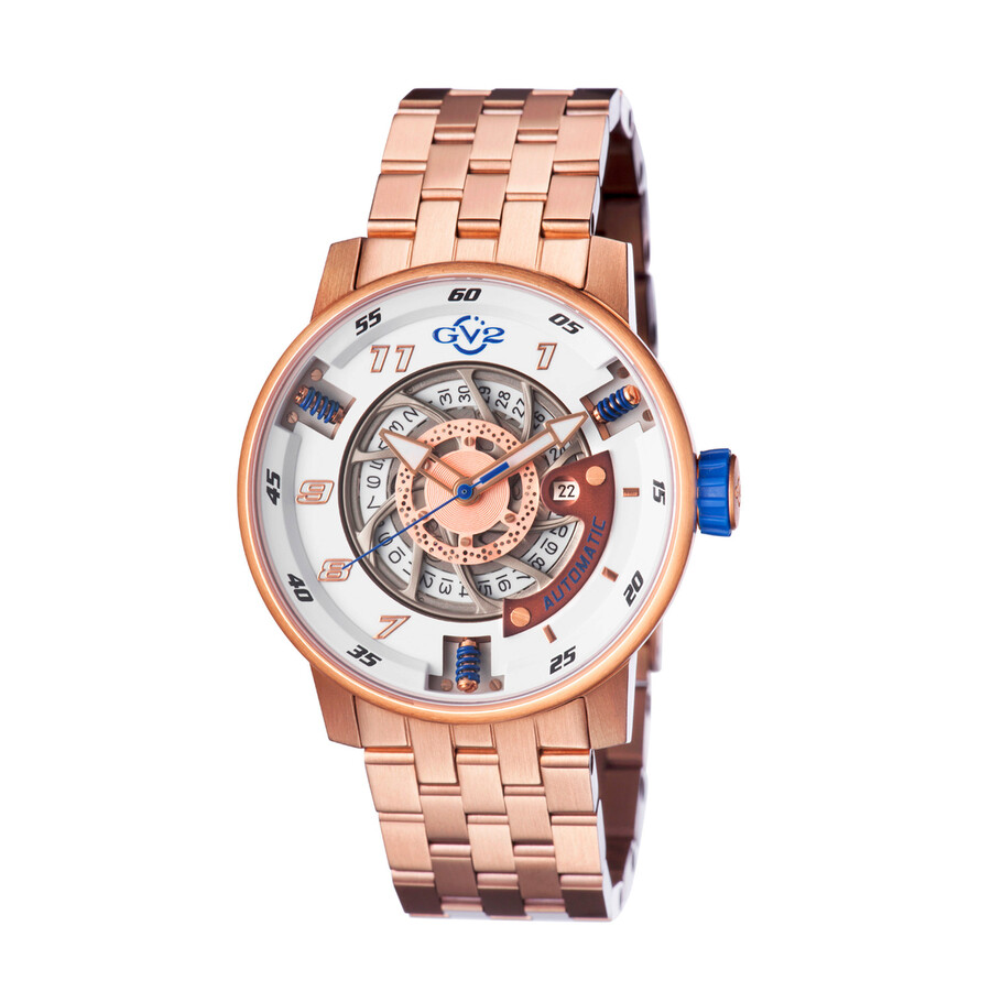 GV2 by Gevril Motorcycle Mens Watch 1302B