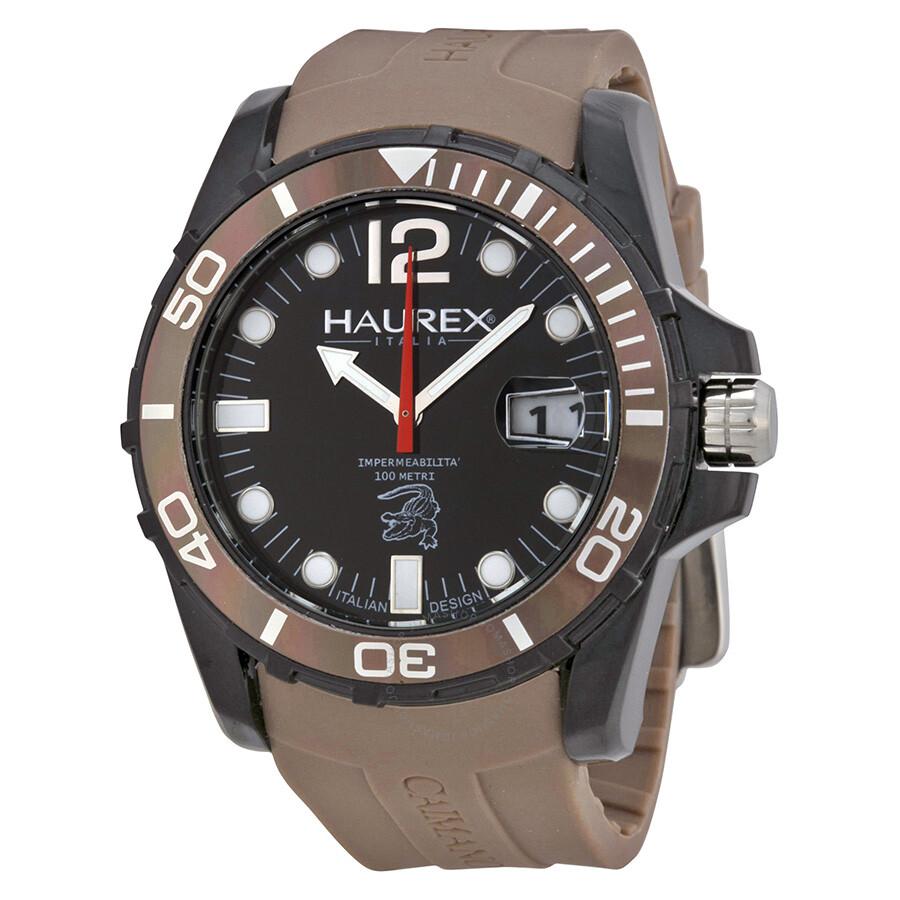 Haurex italy caimano men 39 s watch n1354ung haurex italy watches jomashop for Haurex watches