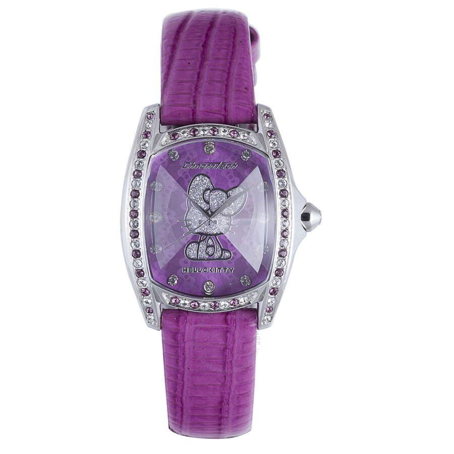 Hello Kitty by Chronotech Purple Ladies Watch CT.7094SS/38