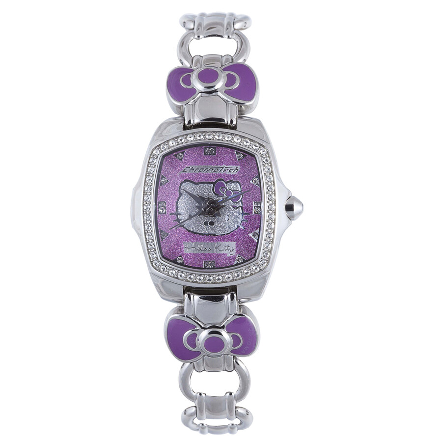 Hello Kitty by Chronotech Purple Ladies Watch CT.7105LS/03M