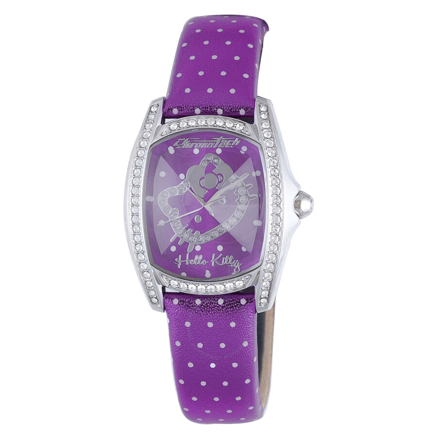 Hello Kitty by Chronotech Purple/White Ladies Watch CT.7094SS/43