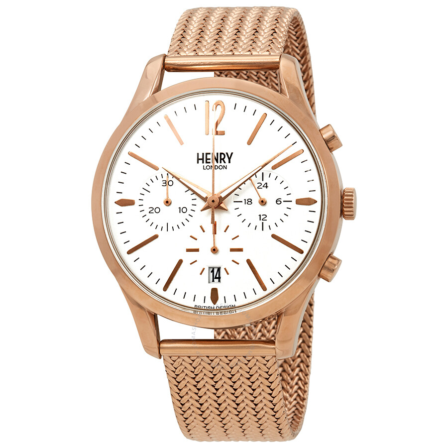Henry London Richmond Chronograph Unisex Watch HL39-CM-0034