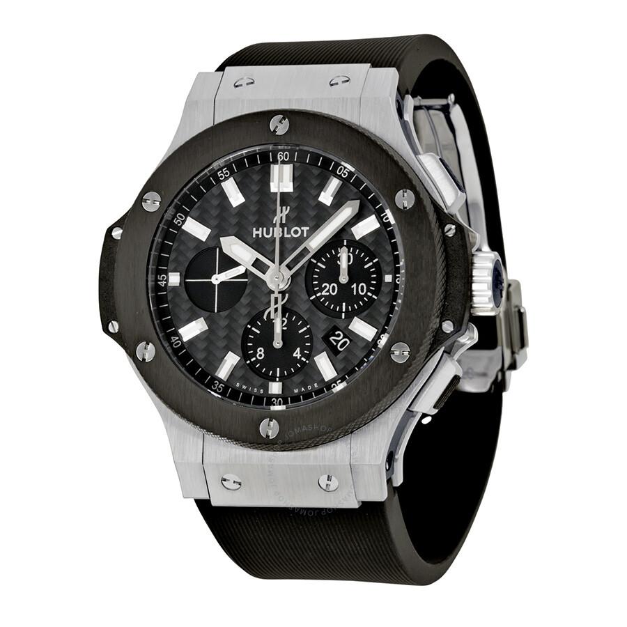 Hublot big bang evolution men 39 s watch 301 big bang hublot watches jomashop for Hublot watches