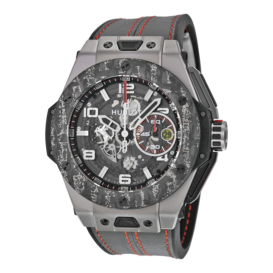hublot big bang ferrari carbon limited edition men 39 s watch 401 big bang ferrari. Black Bedroom Furniture Sets. Home Design Ideas