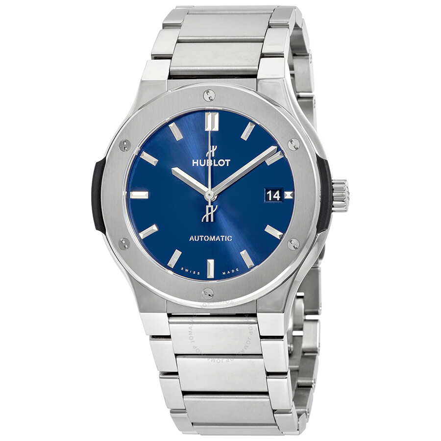 Hublot Classic Fusion Automatic Blue Dial Mens Watch 510.NX.7170.NX