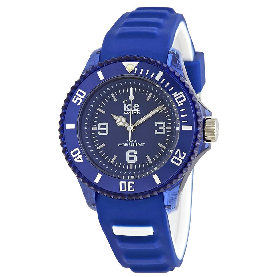 Ice watch ice aqua blue dial ladies watch 001455 ice watch watches jomashop for Aqua marine watches