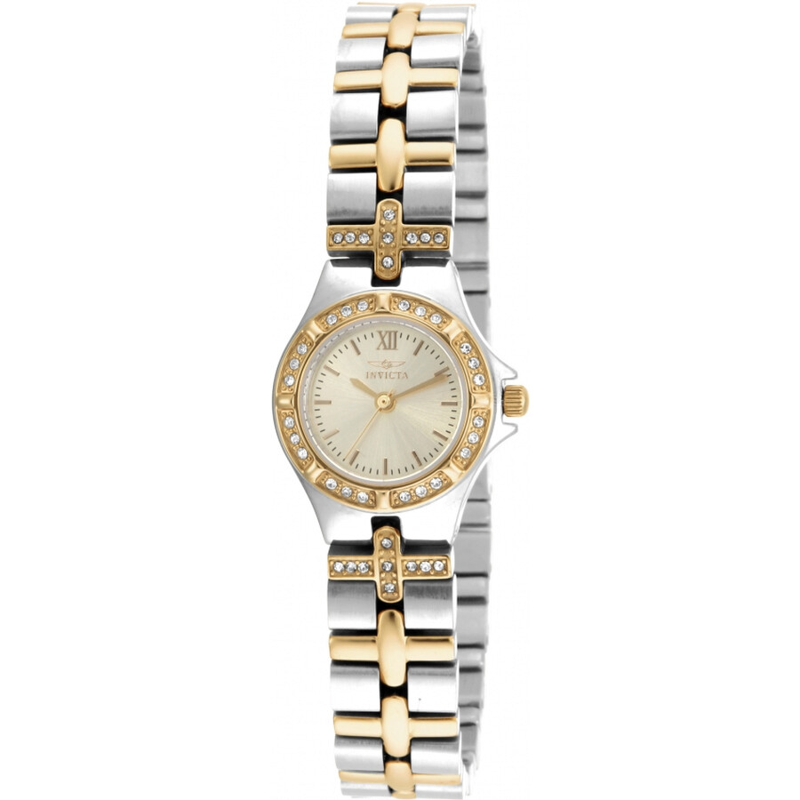Invicta Angel Champagne Dial Ladies Watch 17064