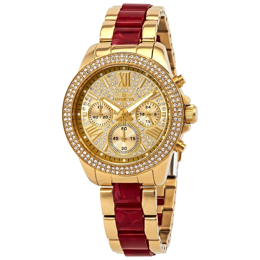 Invicta Angel Chronograph Ladies Watch 24126