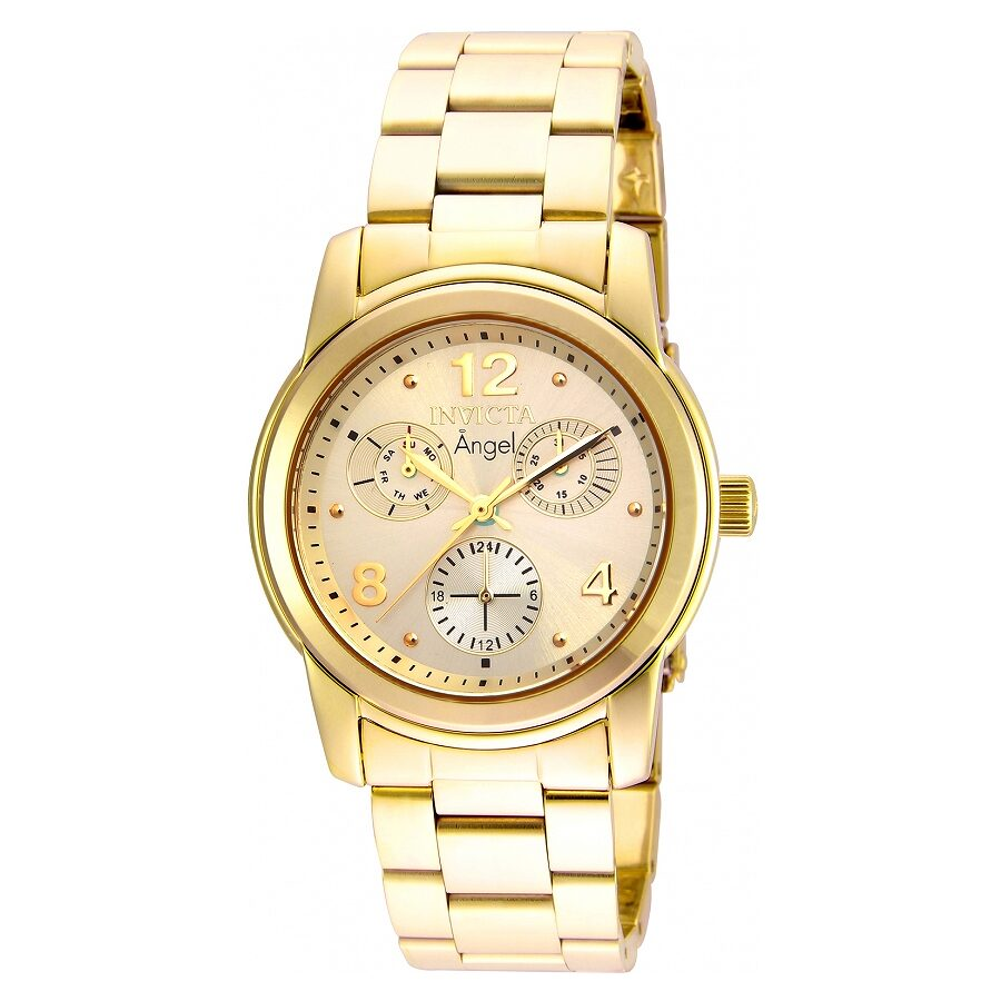 Invicta Angel Champagne Dial Ladies Watch 19163