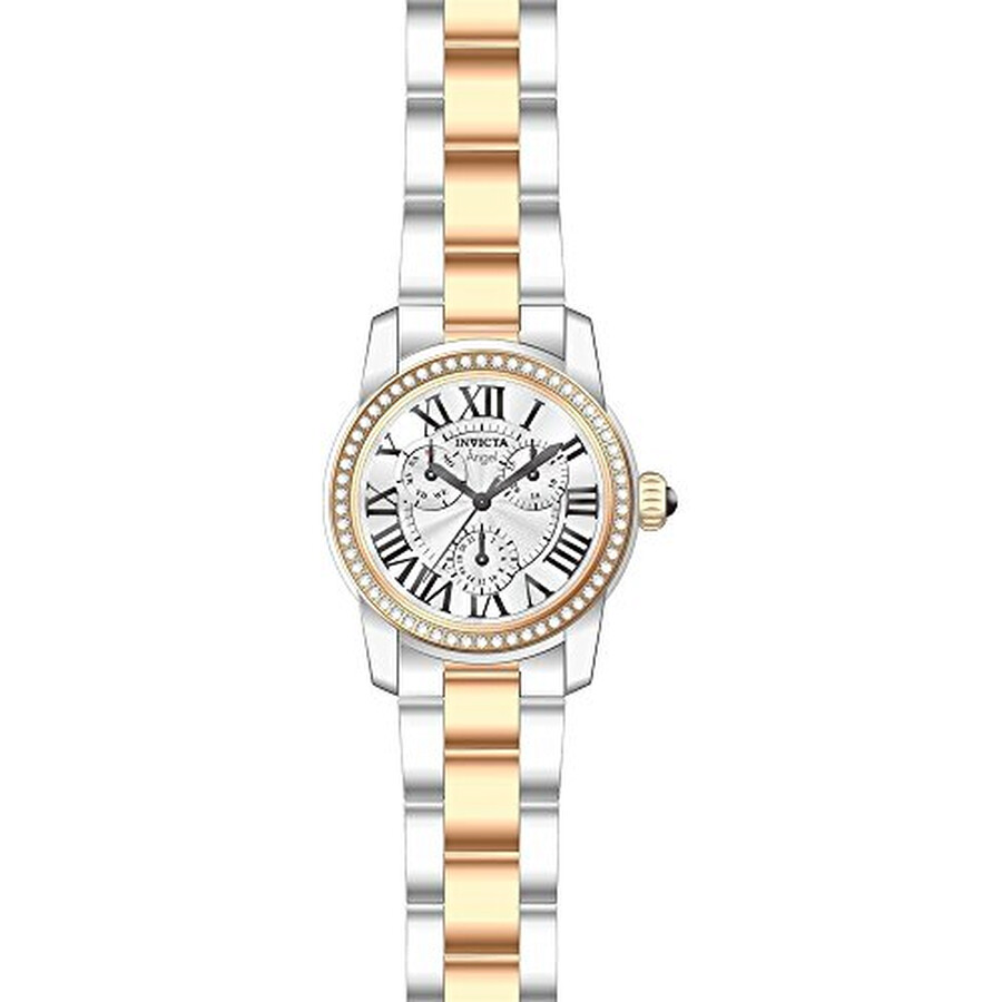 Invicta Angel Multi-Function Mother of Pearl Dial Ladies Watch 21708