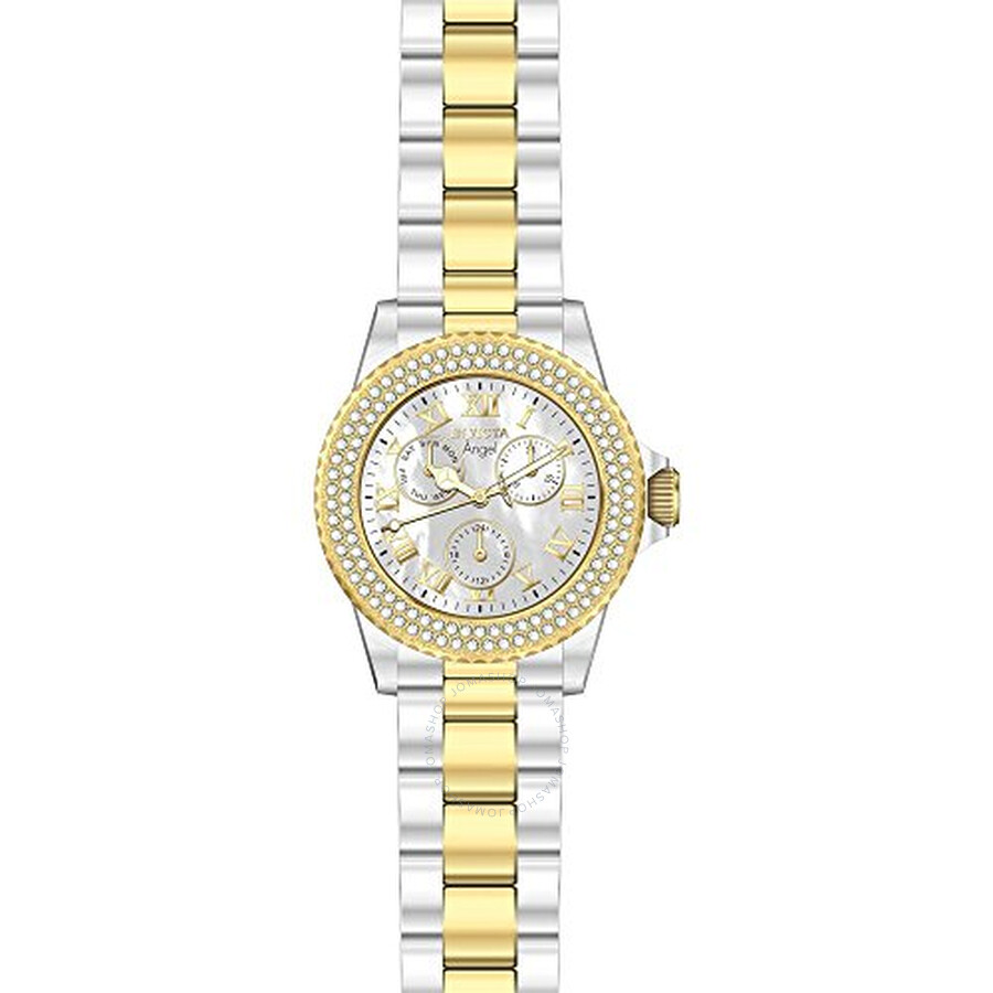 Invicta Angel Multi-Function Silver Dial Ladies Watch 17437