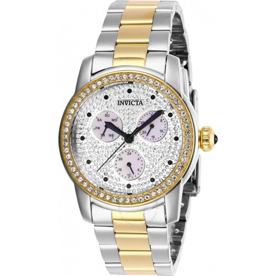 Invicta Angel Quartz Crystal Ladies Watch 28467