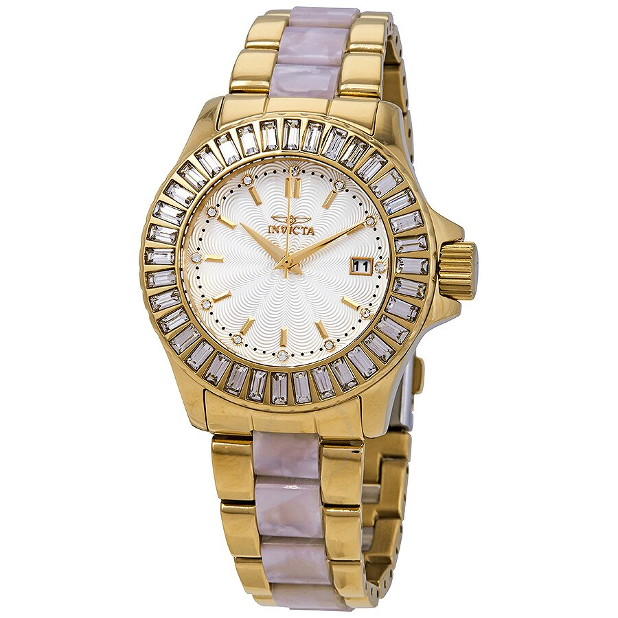 Invicta Angel Silver Dail Ladies Watch 17940