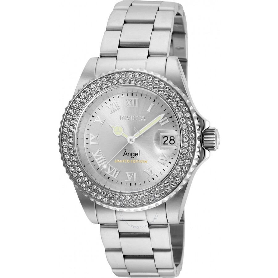 Invicta Angel Silver Dial Ladies Watch 24613