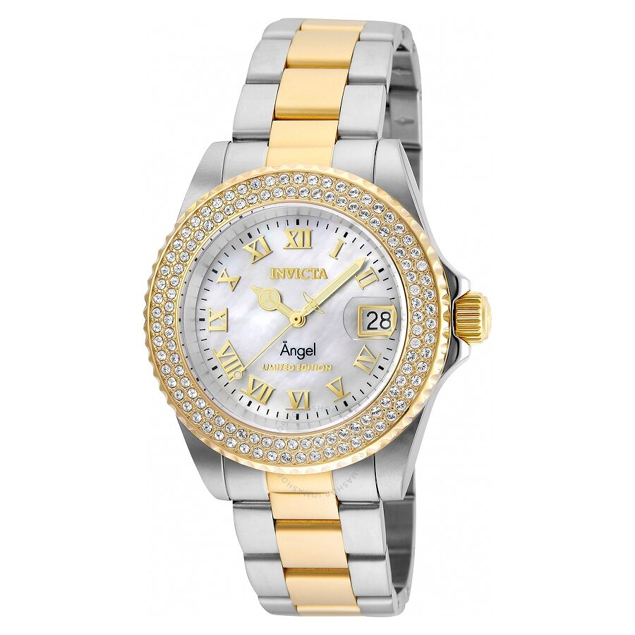 Invicta Angel Silver White Dial Ladies Watch 24616