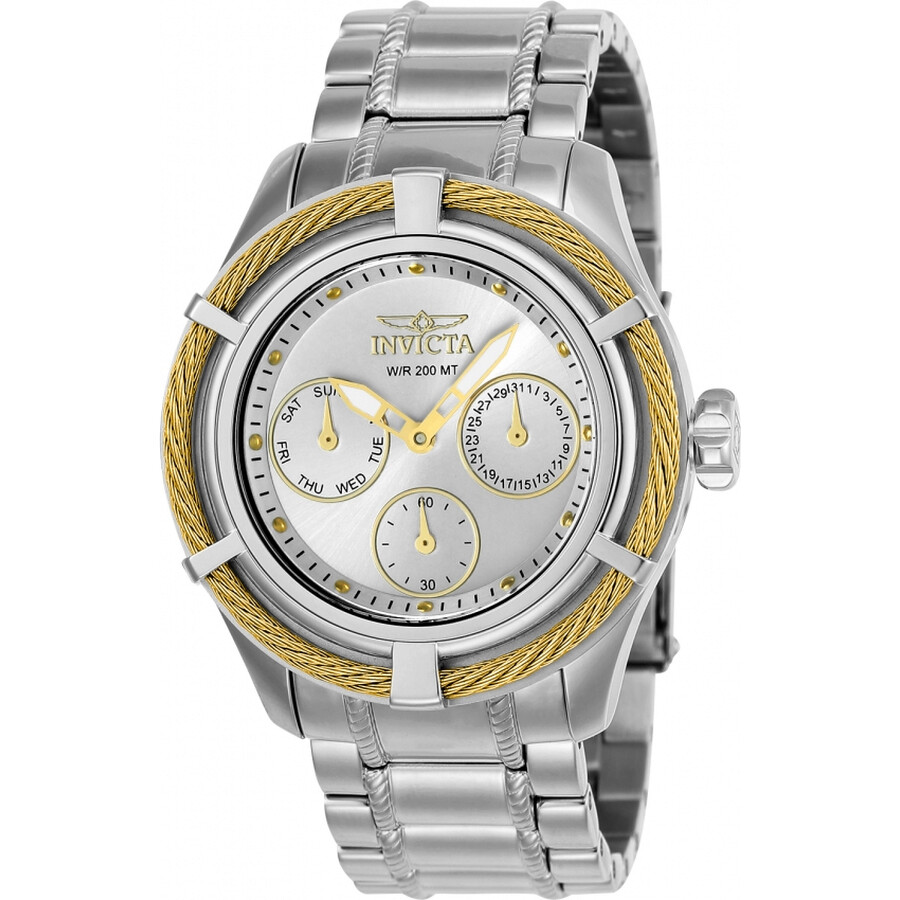 Invicta Bolt Multi-Function Silver Dial Ladies Watch 24454