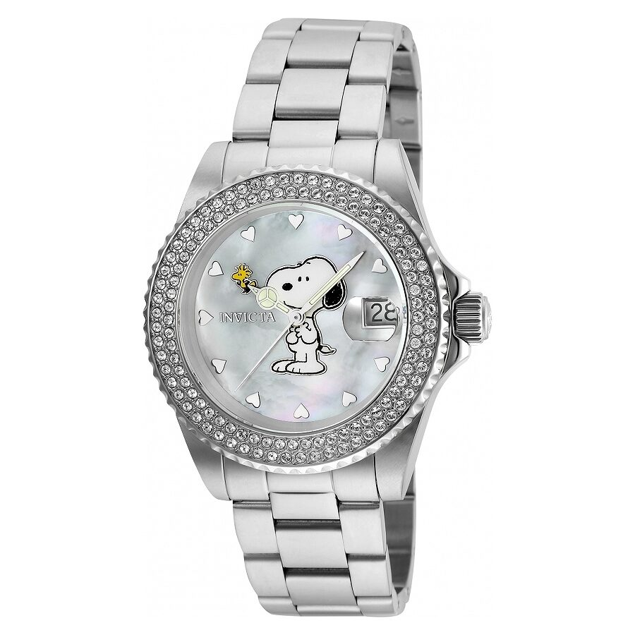 Invicta Character Collection White Dial Ladies Watch 24808