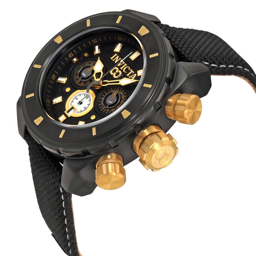 ... Invicta Corduba Chronograph Black Dial Men's Watch 22334 ...