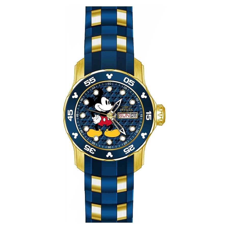 Invicta Disney Limited Edition Blue Dial Ladies Watch 23771