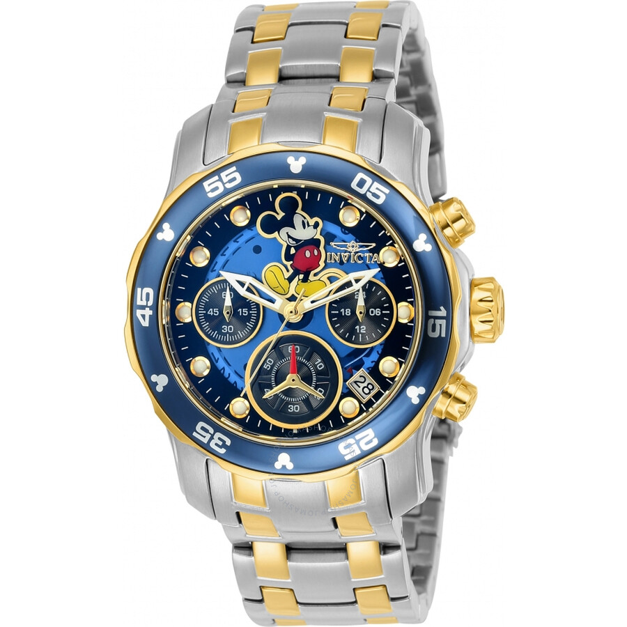 Invicta Disney Limited Edition Chronograph Blue Dial Ladies Watch 24133