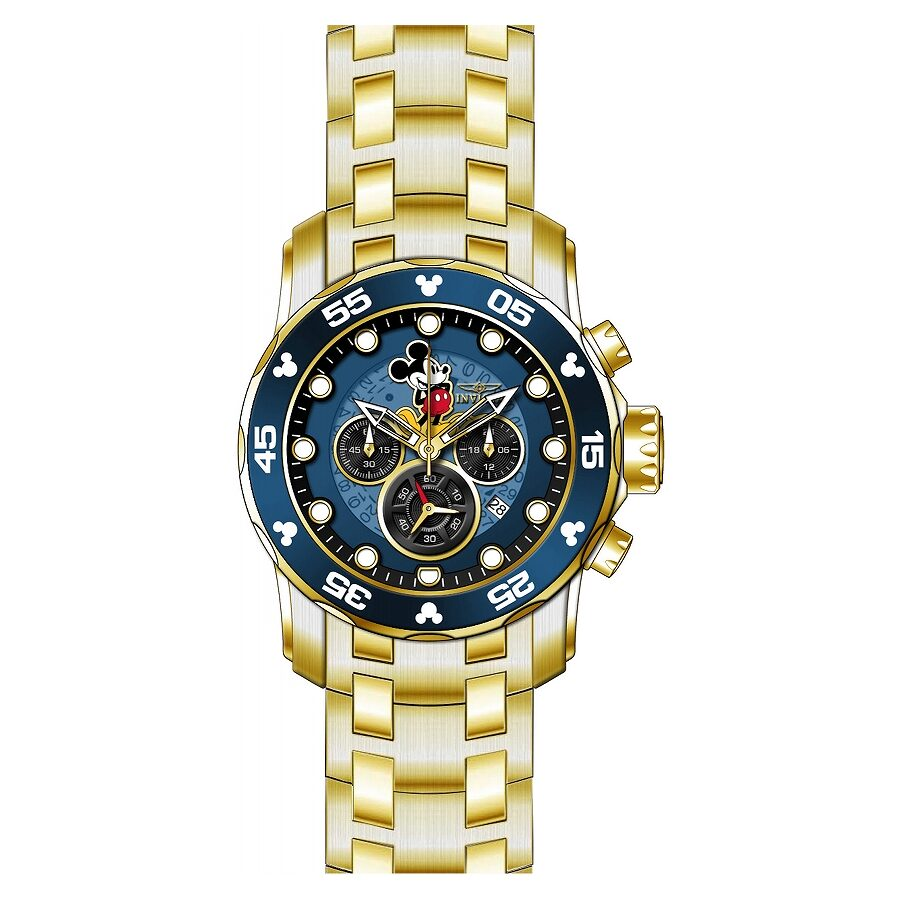 Invicta Disney Limited Edition Chronograph Blue Dial Mens Watch 23766