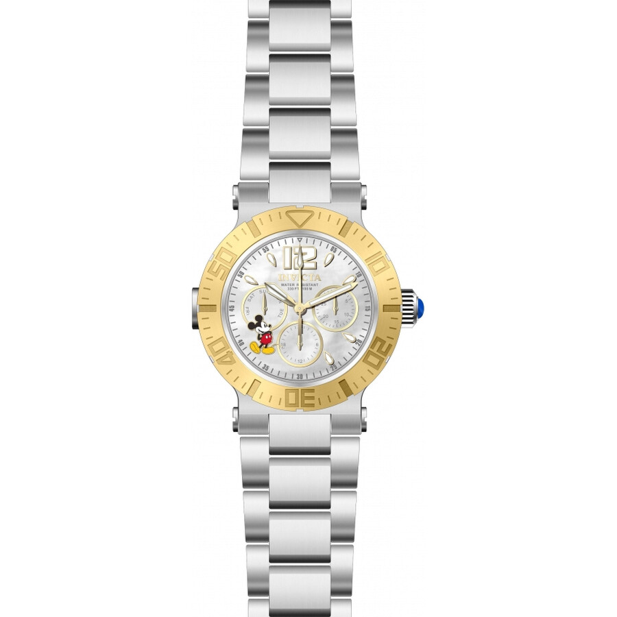 Invicta Disney Limited Edition White Dial Ladies Watch 24498