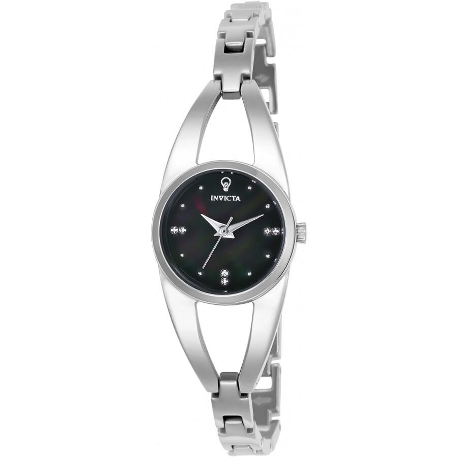Invicta Gabrielle Union Black Dial Ladies Watch 23311