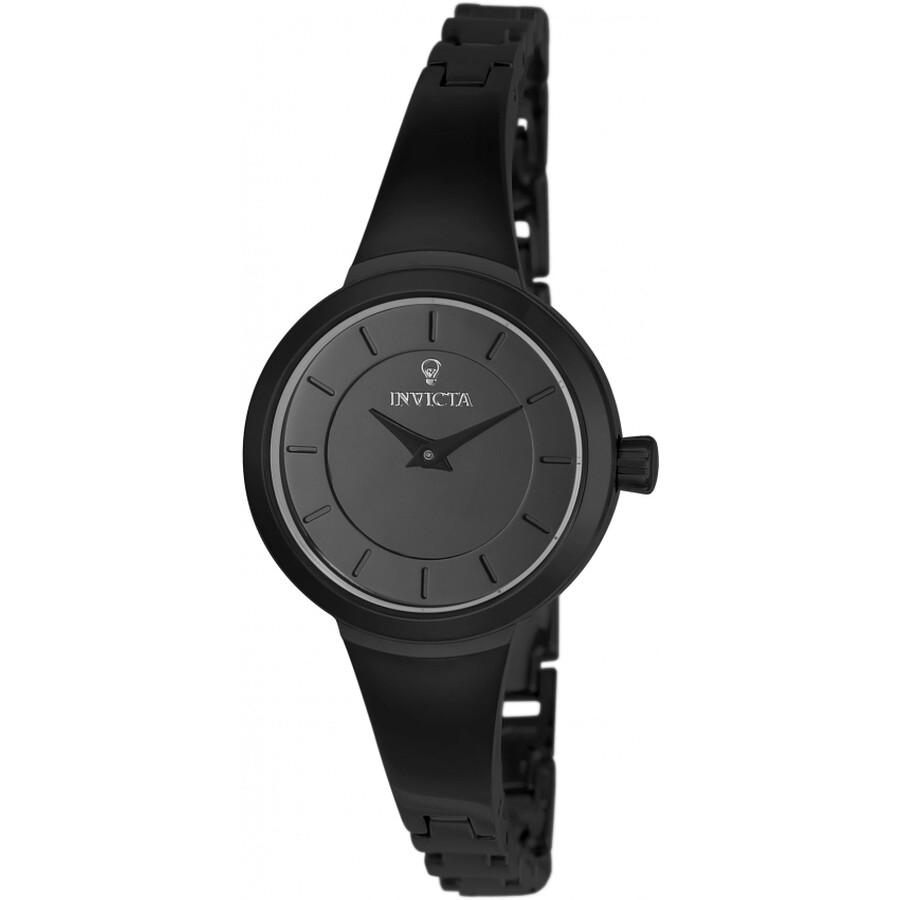 Invicta Gabrielle Union Black Dial Ladies Watch 23319