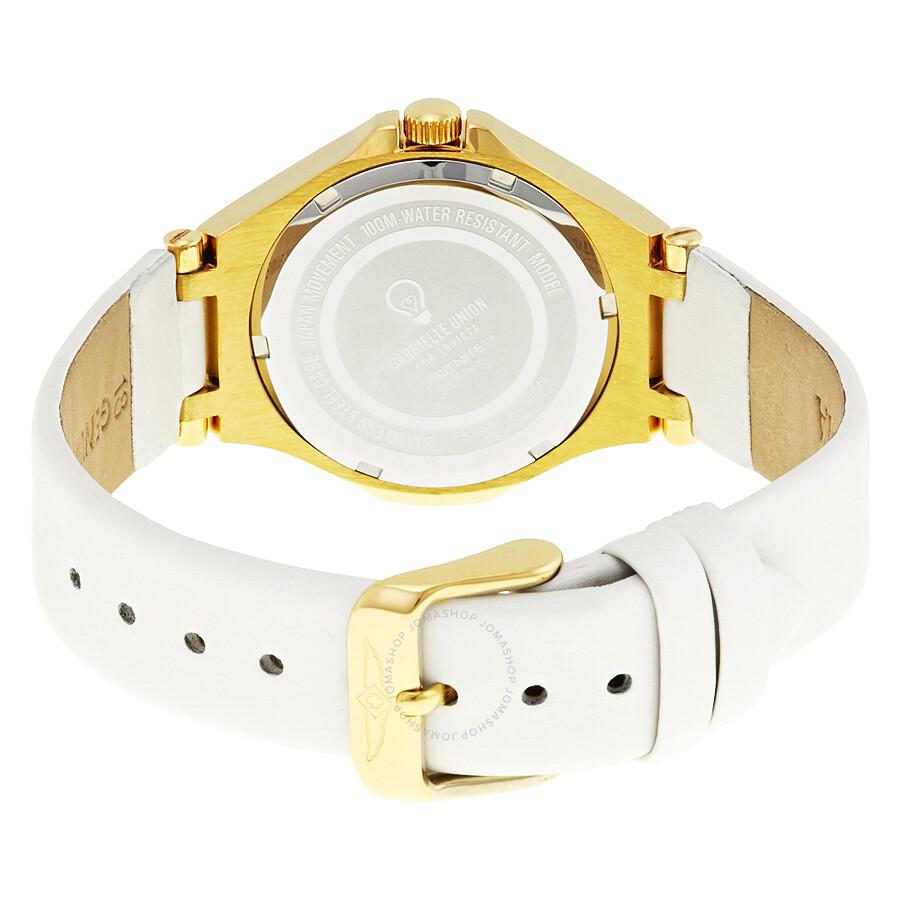 ... Invicta Gabrielle Union Gold Dial Ladies Watch 23251 ...