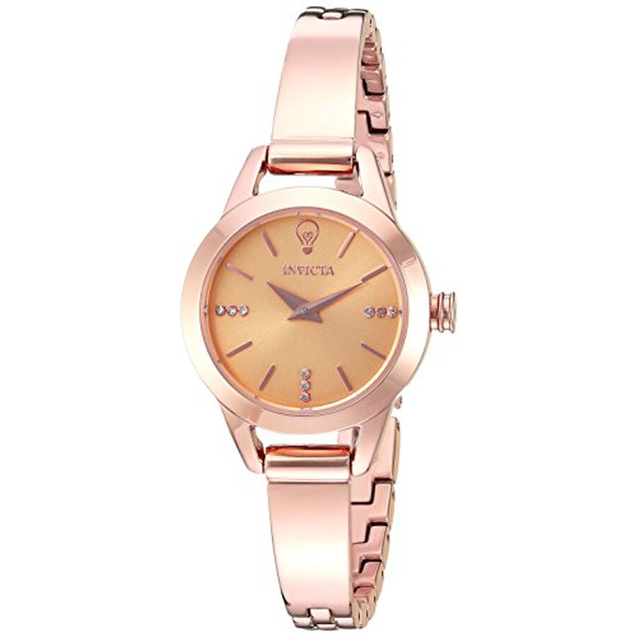 Invicta Gabrielle Union Rose Dial Ladies Watch 22951