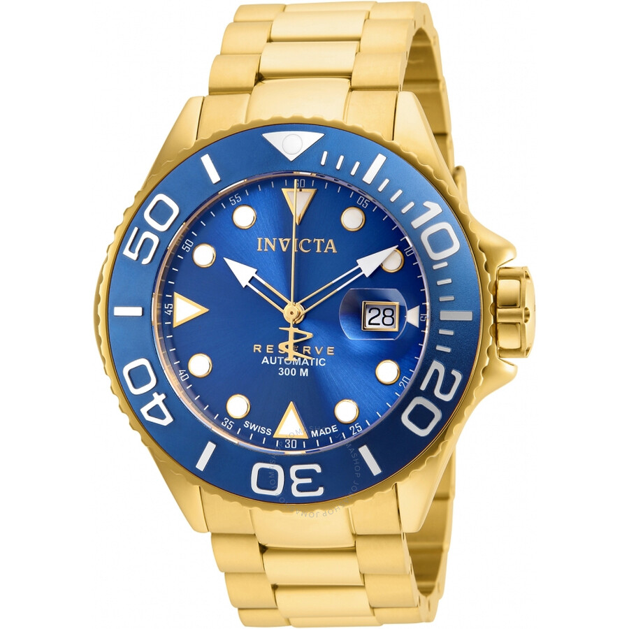Invicta Grand Diver Automatic Blue Dial Mens Watch 22858