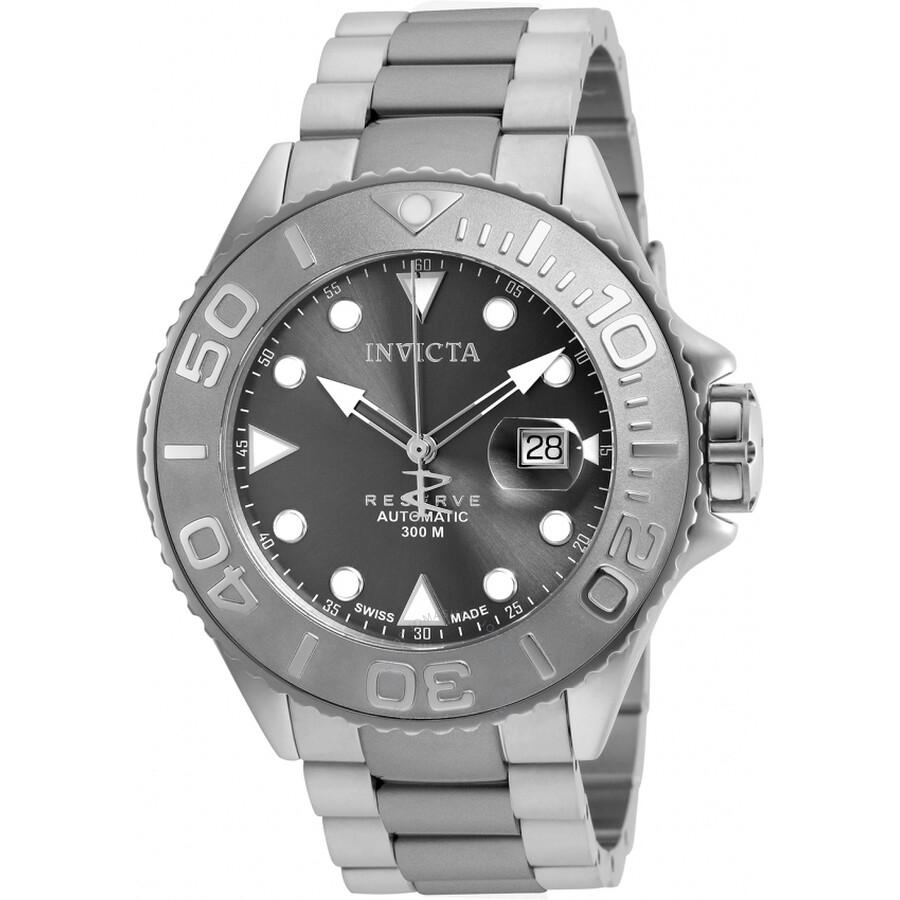 Invicta Grand Diver Titanium Swiss Made Automatic Mens Watch 22859