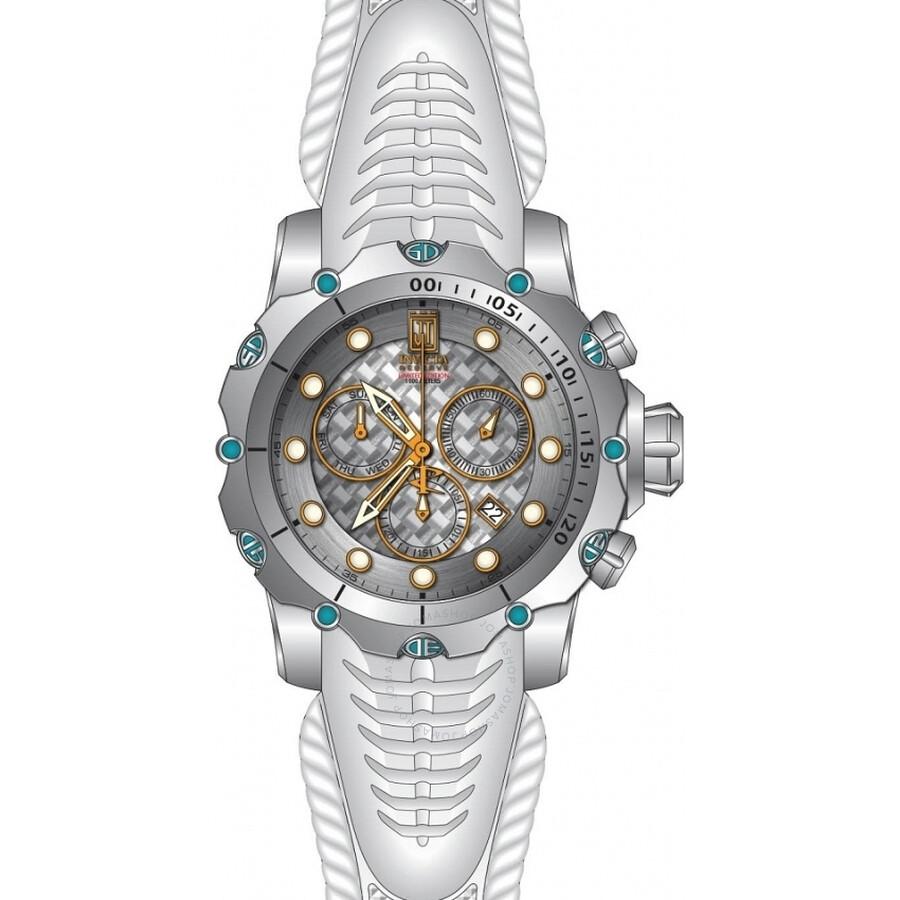 Invicta Jason Taylor Chronograph Silver Dial Mens Watch 27104