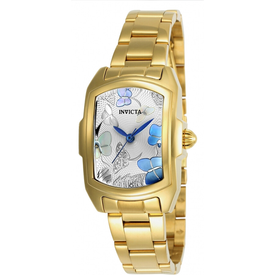 Invicta Lupah Silver Dial Ladies Watch 23219