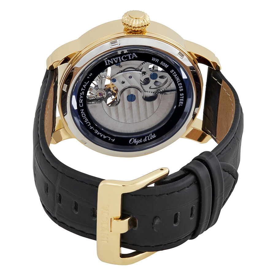 ... Invicta Objet D Art Automatic Blue Dial Men's Watch 22651