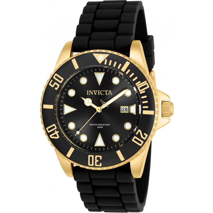 Invicta Pro Diver Black Dial Mens Watch 90303
