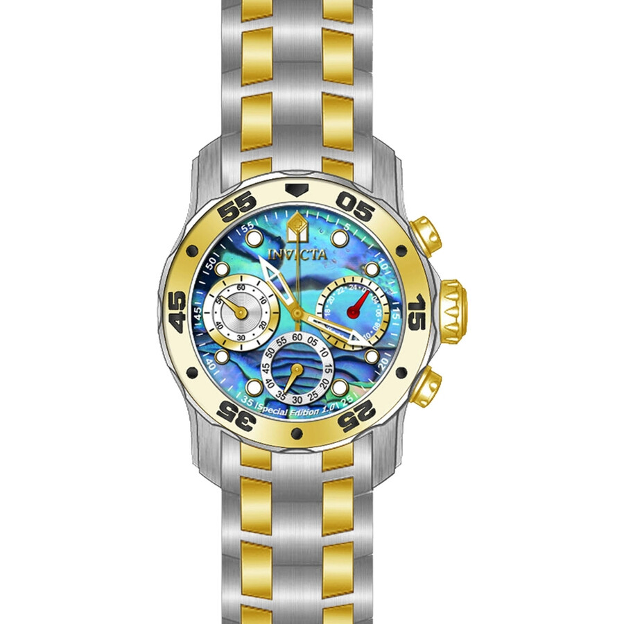 Invicta Pro Diver Blue Abalone Dial Ladies Watch 24833