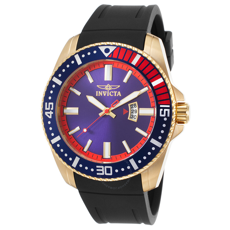 Invicta Pro Diver Blue Dial Men's Watch 21447 ...