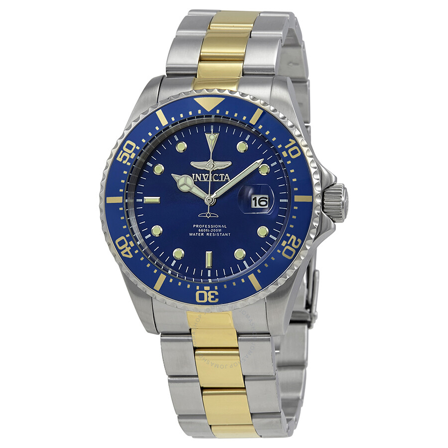 Invicta Pro Diver Blue Dial Mens Watch 25716
