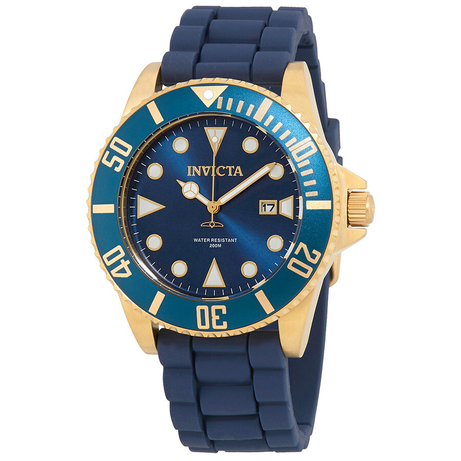 Invicta Pro Diver Blue Dial Mens Watch 90304