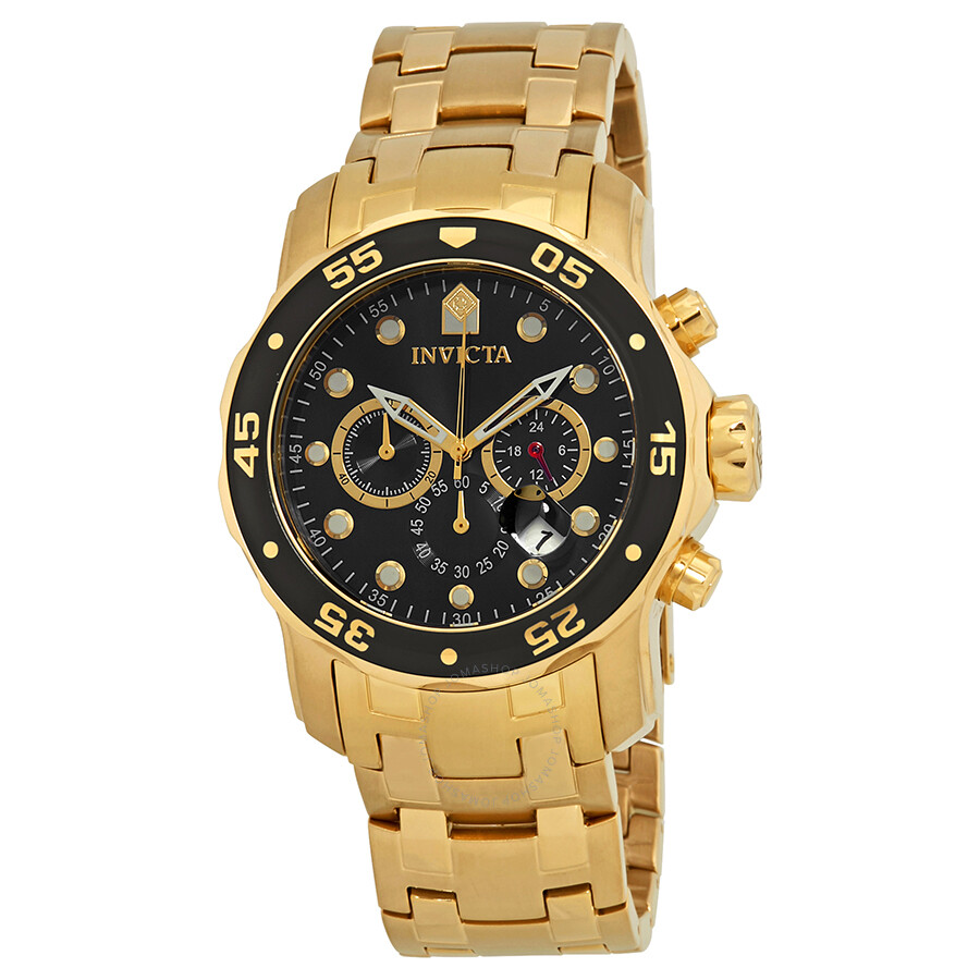 Invicta Pro Diver Chronograph Black Dial Mens Watch 21922