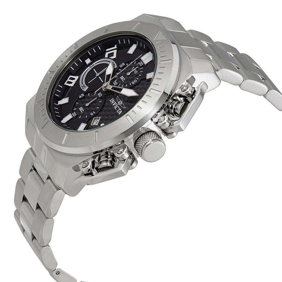 ... Invicta Pro Diver Chronograph Black Dial Men's Watch 23400 ...