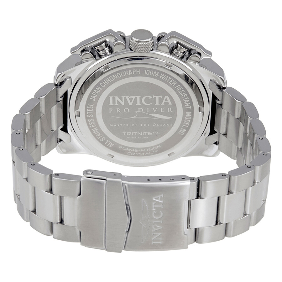 ... Invicta Pro Diver Chronograph Black Dial Men's Watch 23400