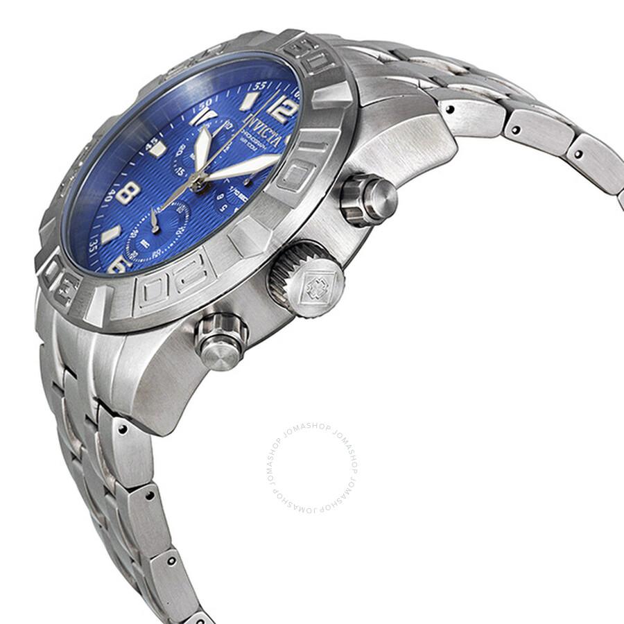 ... Invicta Pro Diver Chronograph Blue Watch 11456 ...