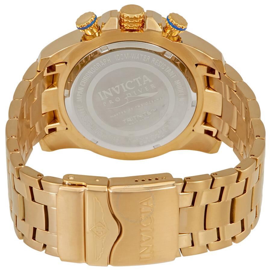 ... Invicta Pro Diver Chronograph Dial Men's Watch 22321