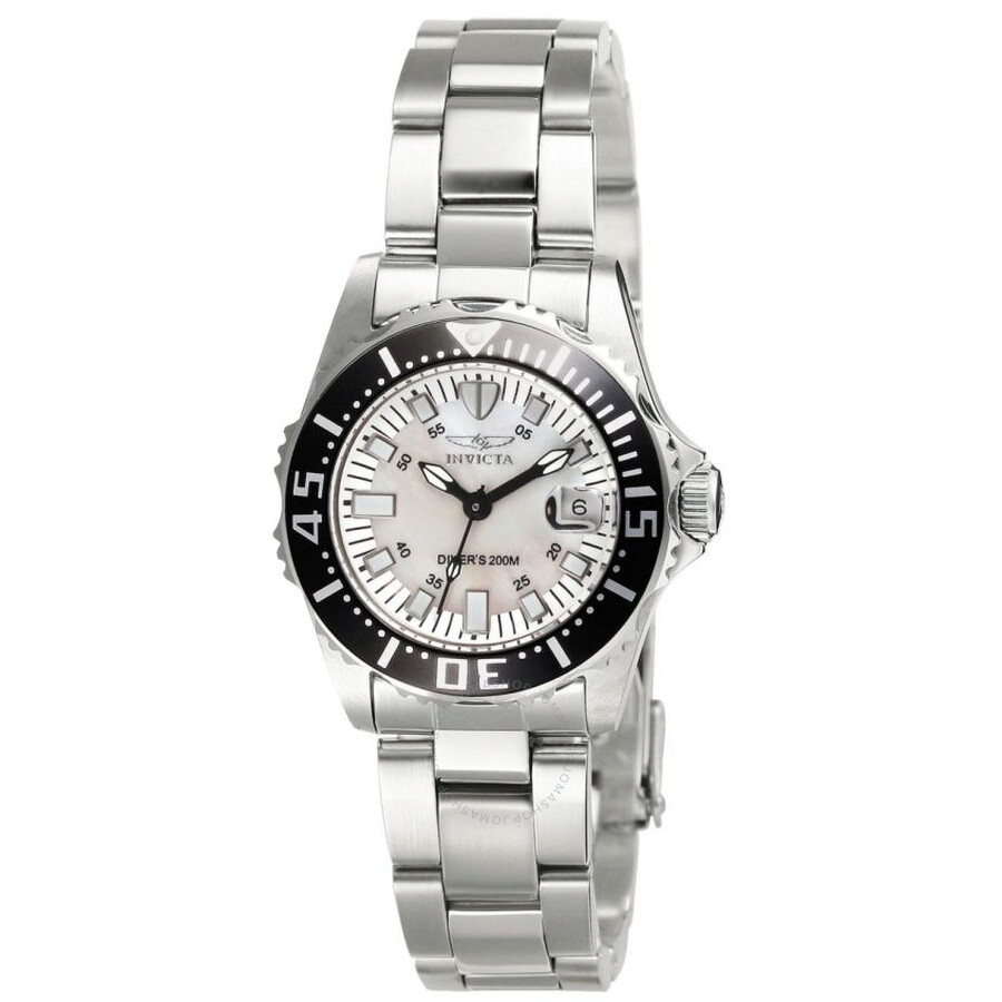 Invicta Pro Diver Collection Lady Abyss Silver-tone Ladies Watch 2958