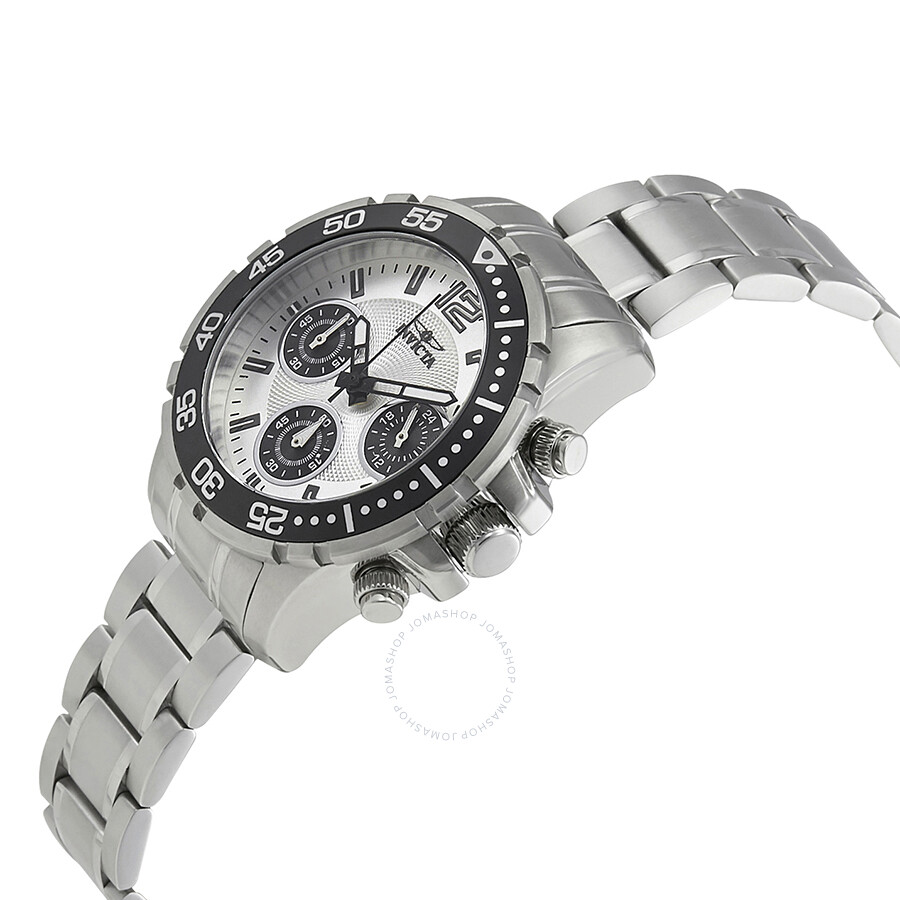 ... Invicta Pro Diver Lady Chronograph Silver Dial Ladies Watch 25746 ...