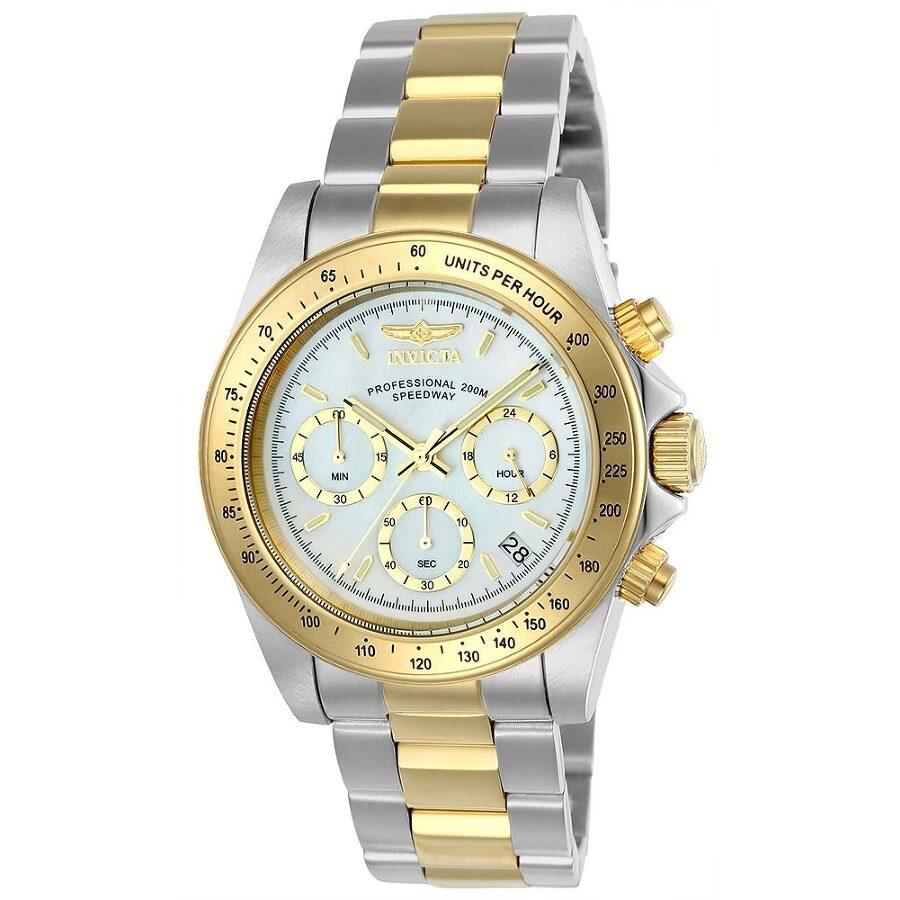 Invicta Pro Diver White Dial Chronograph Mens Watch 24769