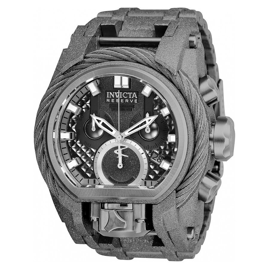 Invicta Reserve Chronograph Black Dial Mens Watch 26681